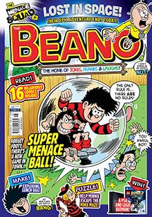 The Beano magazine is home to Britain's comic legends the Bash Street Kids, Minnie the Minx, Rodger the Dodger and of course, Dennis the Menace. Tales of mischief, friendship, growing up and having fun scatter across the pages in brightly coloured comic strips. With a handful of quizzes, games and giveaways, The Beano magazine subscription is suitable for both the young and young at heart. Subscribe to The Beano today and never miss out on the fun!