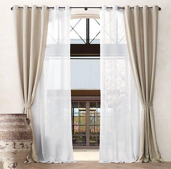 Ideen für dekorative Vorhänge zu Hause