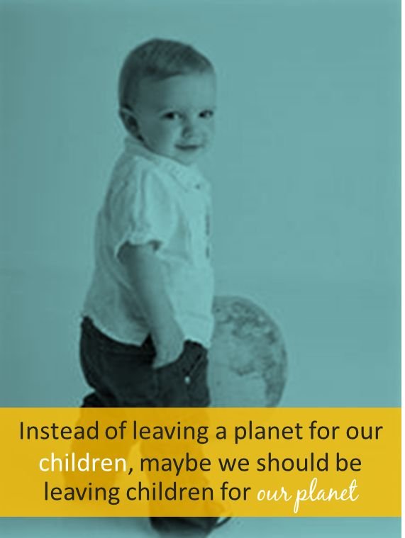 Children for our #planet