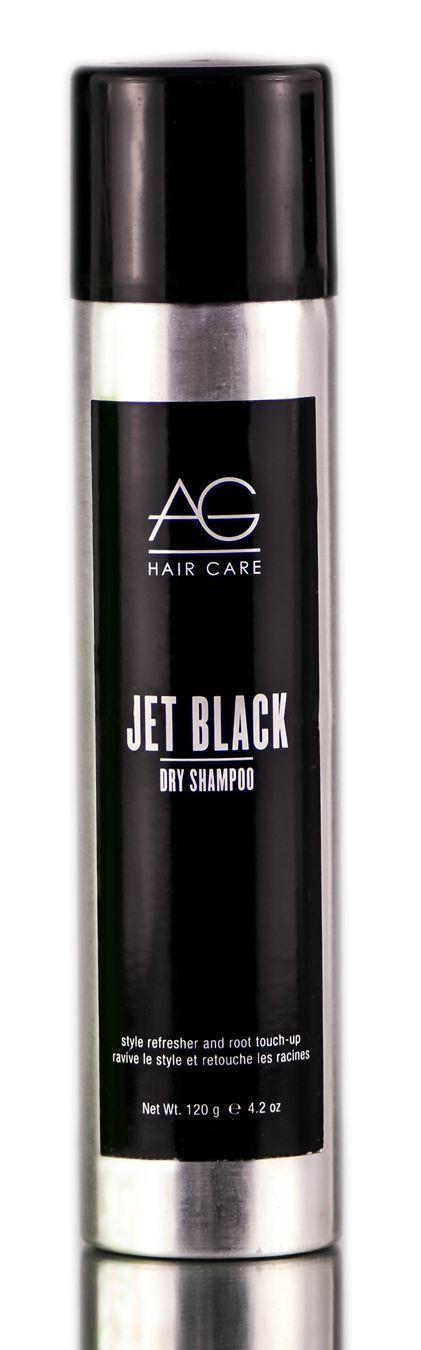 AG Hair Care Jet Black Dry Shampoo #BlackHairCareProducts #HairCareProducts