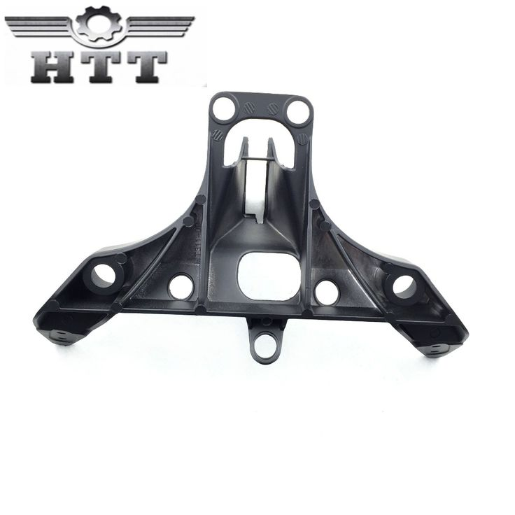 (74.10$)  Watch now  - Aftermarket Motorcycle Parts Head Cowling Front upper fairing stay brackets for  Yamaha YZF R1 YZFR1 2002 2003 BLACK