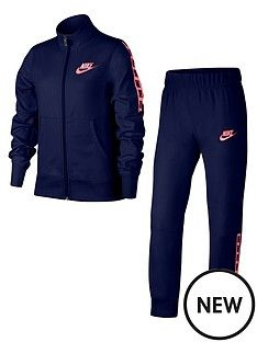 nike-sportswear-older-girlsnbsptricot-tracksuit-navypinknbsp 450299fac