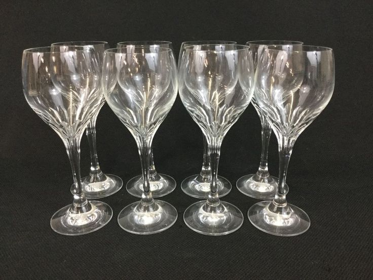 Schott-Zwiesel Revue EIGHT Crystal Water Wine Goblets Glasses 7 7/8 Inches #SchottZwiesel