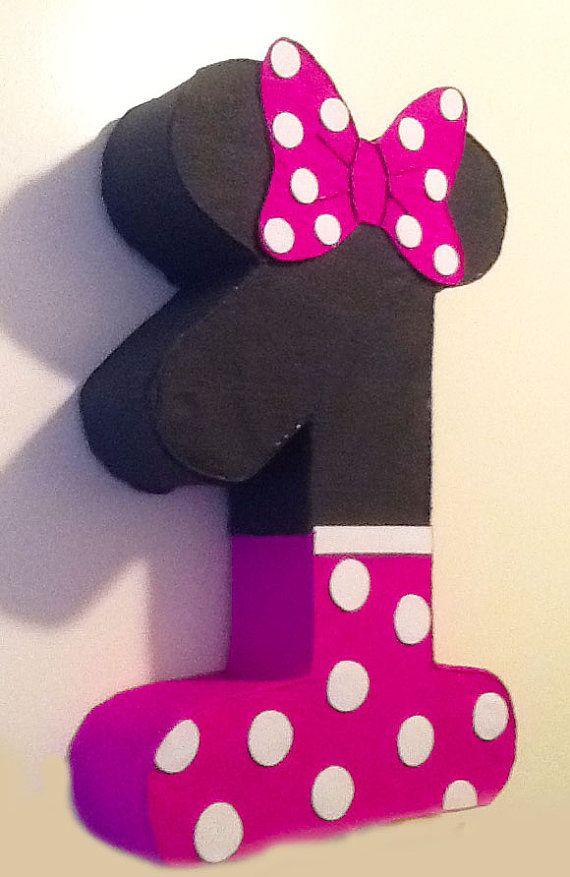 1st birthday minnie mouese pinata minnie mouse party by aldimyshop, $18.00