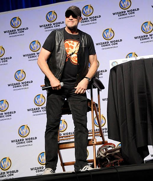 Actor Michael Rooker attends Wizard World Philadelphia Comic Con 2014 Day 3 held at Pennsylvania Convention Center on June 21 2014 in Philadelphia...