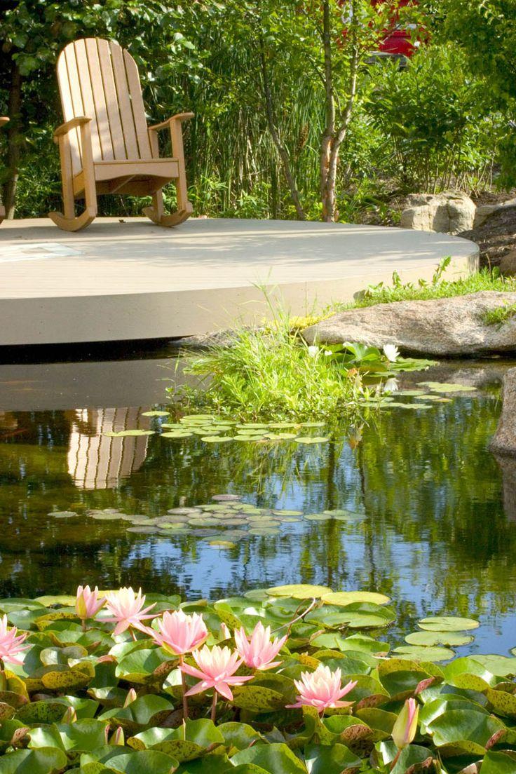 Backyard garden water - Help Your Pond Beat The Summer Heat Garden Waterwater