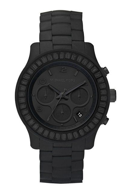 Michael Kors Matte Black Watch.. Love it for my man more than myself