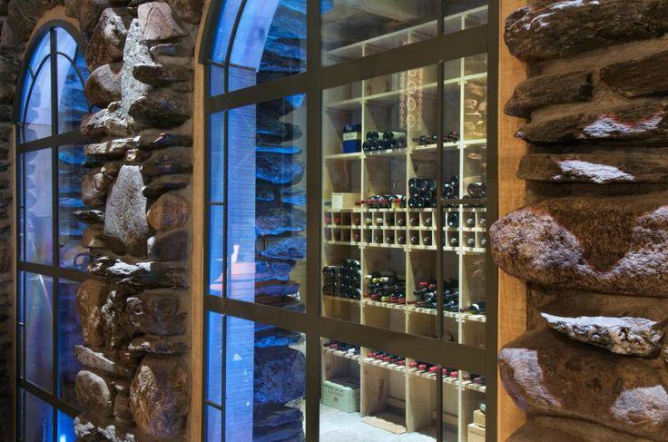 Cave à vin réalisée par Pierres et Roches