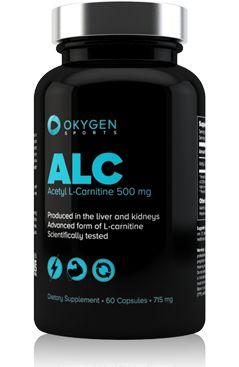 ALC Acetyl L-Carnitine 500mg 60 caps es la forma de más fácil absorción de la L-carnitina, un aminoácido encargado de transportar los ácidos grasos a las mitocondrias de las células. Dentro de las mitocondrias, los ácidos grasos participan en las reacciones bioquímicas que originan la producción de energía, que después es utilizada durante el ejercicio físico.  http://www.okygen.es/producto/alc-acetyl-l-carnitine-60-caps/