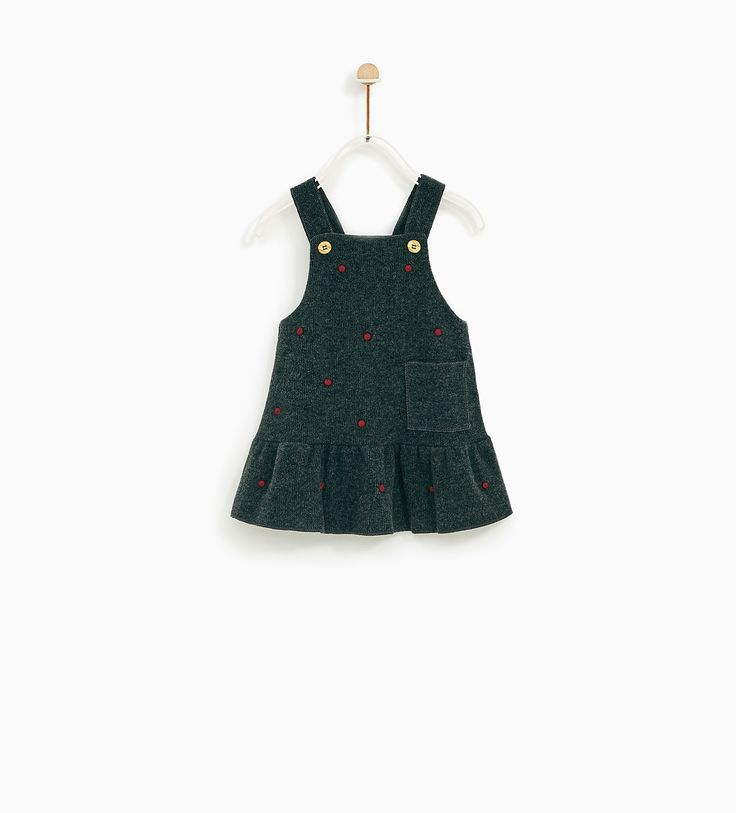 QUIMERSON: ZARA - KIDS - PINAFORE DRESS WITH CONTRASTING POLKA DOTS