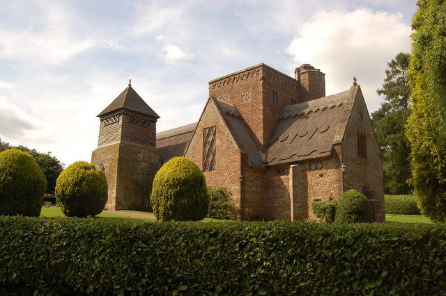 All Saint's Church, Brockhampton - geograph.org.uk - 1434628 - William Lethaby - Wikipedia, the free encyclopedia