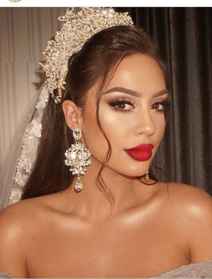 Arabian Wedding Make Up 29 Brides Of Azazel Arabian Wedding Make Up 29 Arabian W Coiffure Et Maquillage De Mariage Maquillage Mariage Mariage Arabe