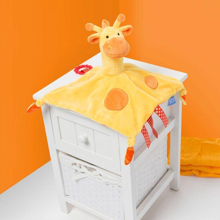 The Gro Friends - Gerri Giraffe Comforter with Teether