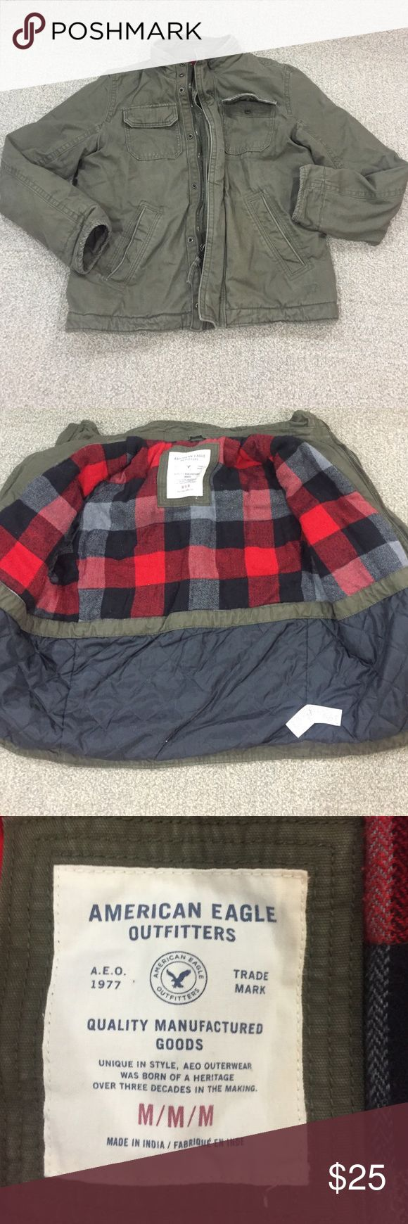 Men's Jacket American Eagle jacket, normal wear ,make an offer American Eagle Outfitters Jackets & Coats Utility Jackets