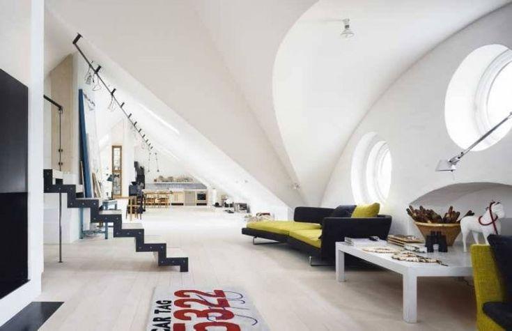 Scandinavian Design: Amazing Loft-Studio of Artist Carouschka Streijffert in Stockholm | HomeDSGN