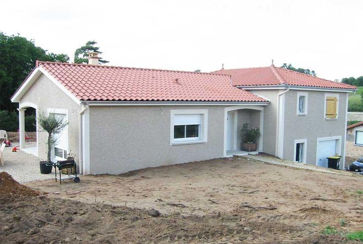 Maisons VESTA  Modèle Nebraska F5 à partir de 90m² + 49m² surface - plan maison demi sous sol