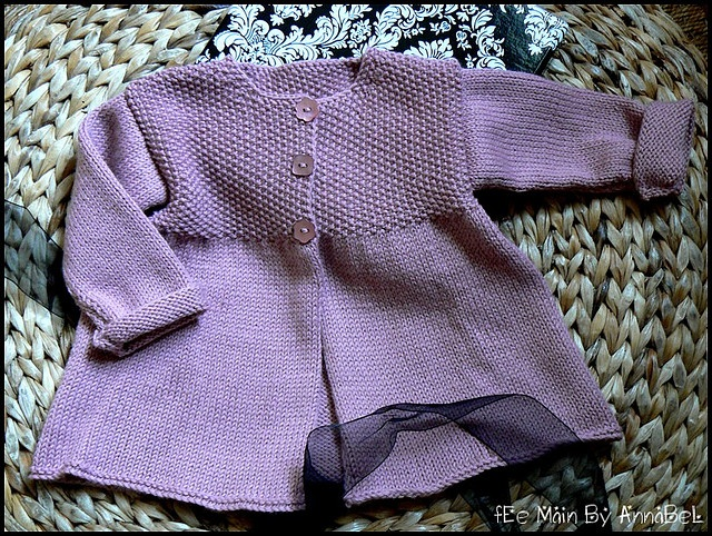 Knitted: I like the simplicity of this and the color.