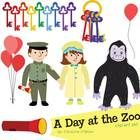 Enjoy this zoo-themed clip art set to accompany fun zoo animal activities or as a perfect accompaniment to the beloved children's book, Good Night,...
