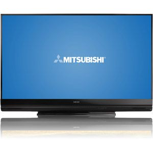 "Mitsubishi 82"" Class 3D DLP 1080p HDTV with StreamTV Internet Media, WD-82742"