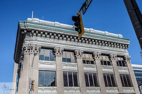 Landed Bank in Hamilton, Ontario.  Downtown. Heritage.