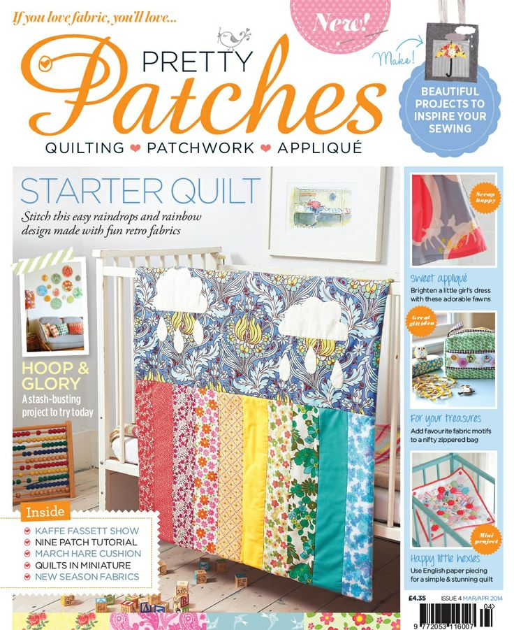 Issue 4 of Pretty Patches Magazine www.prettypatchesmagazine.com