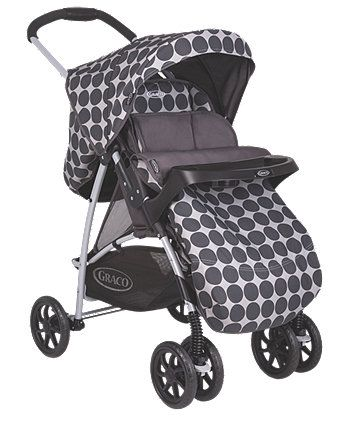 Graco Mirage Travel System - Silver Spots