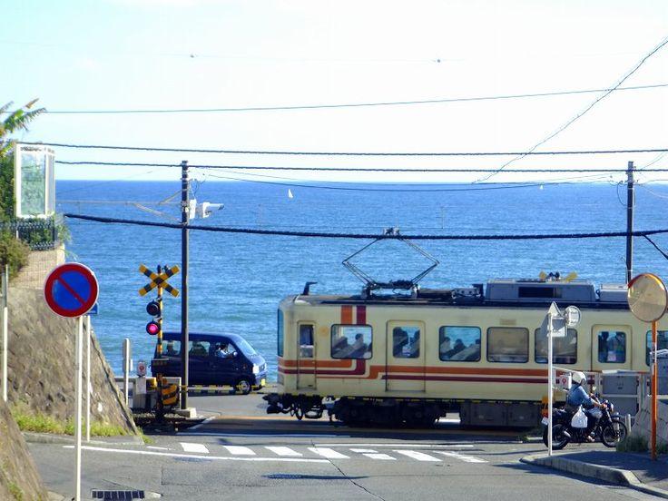 江ノ島電鉄 鎌倉高校前1号踏切(日坂踏切)の画像 - Gatzのすべて ~今好きな色はインペリアルブルー~ - Yahoo!ブログ