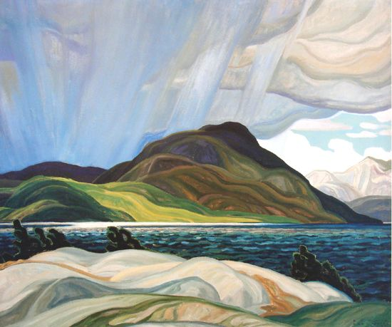 Emily Carr Paintings Original | Canadian Art - an Original Group of Seven Painting