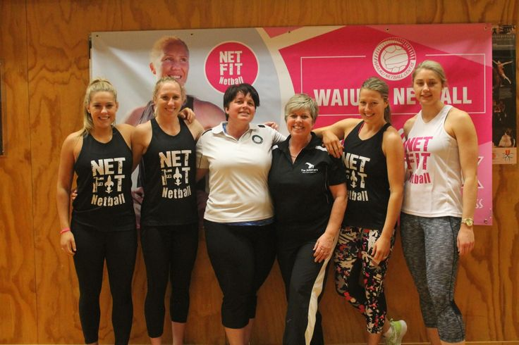 Franklin netballers inspired by Silver Fern - One of New Zealands top sportspeople Laura Langman rolled into Franklin over the weekend.