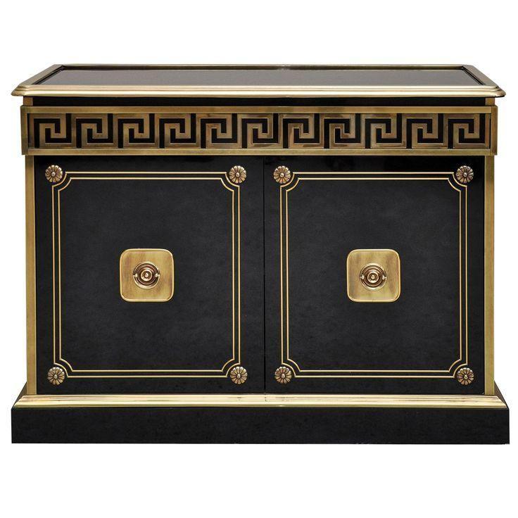 Mastercraft Greek Key Credenza #gold #greekkey #classic