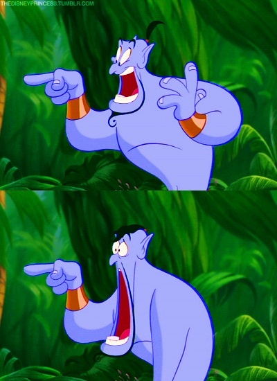Day 12: Favorite sidekick- The Genie!!!(Aladdin) Robin Williams is the best and freaking hilarious.