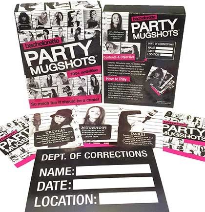 Bachelorette Party Mugshots Game