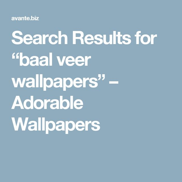 "Search Results for ""baal veer wallpapers"" – Adorable Wallpapers"