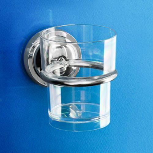 [DeHUB Super Suction-Silver] Tumbler Holder +Cup Ultra Strong Adhesive Gel Pad