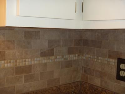 lowes kitchen wall tile shop gbi tile amp inc mixed glazed porcelain mosaic 7272