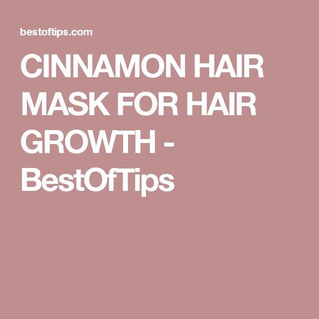CINNAMON HAIR MASK FOR HAIR GROWTH - BestOfTips