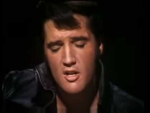 Elvis....Are You Lonesome Tonight.  Small intimate audience at this performance...