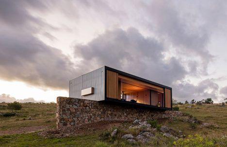 MAPA designs prefabricated house then ships it 200 kilometres to Uruguayan olive grove
