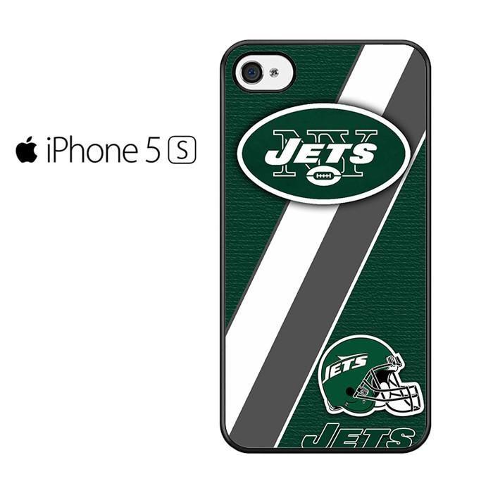 New York Jets Logo Stripe Helmet Iphone 5 Iphone 5S Iphone SE Case