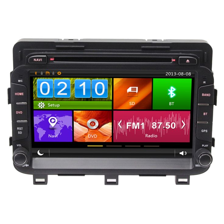 "8"" Capacitive Touch Screen Special Car DVD for Kia K5 Optima 2014 2015 2016 with DVR Tire Pressure Monitoring System Phone Link"
