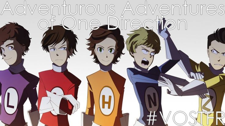 aaood | VOSTFR] Adventurous Adventures of One Direction | by Mark Parsons ...