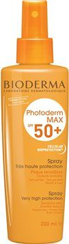 Bioderma Photoderm MAX Spray SPF 50 Bioderma Photoderm MAX Spray SPF 50 MAXimum photoprotection for skin intolerant to all types of sunshine, very fair skin with freckles, and skin subjected to maximum sunshine (tropics, high mountains  http://www.MightGet.com/january-2017-12/bioderma-photoderm-max-spray-spf-50.asp