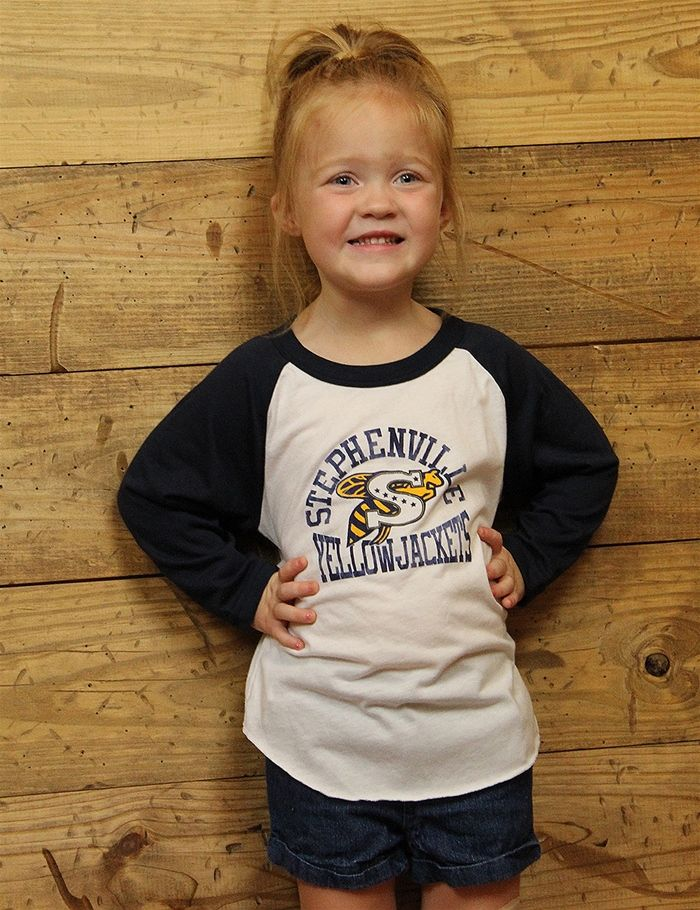 Stephenville Jacket fans... your little ones will look darling in this raglan…