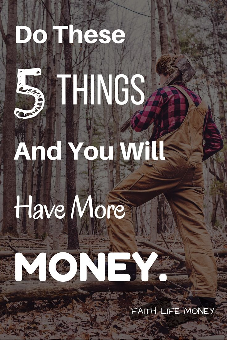 One thing is for sure with FaithLifeMoney.org - Their posts are NOTHING like you've ever heard before! No rehashed, boring content. Just REAL, faith-based strategies for increase. These 5 points will guarantee financial growth and increase in your life. Check it!