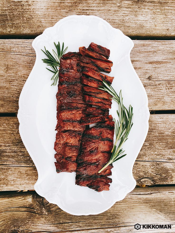 Kikkoman Teriyaki Marinade & Sauce makes an excellent steak marinade for the BBQ: check out our easy recipe on the website.