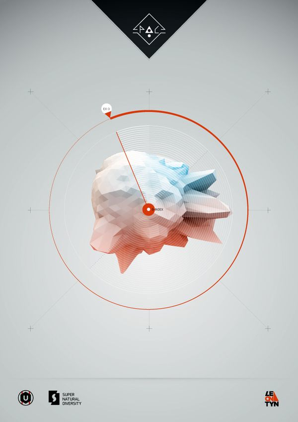 Science posters on Behance