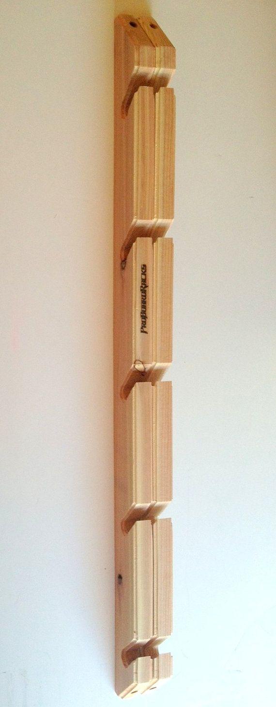 Skateboard Longboard Wall Rack Mount Holds 5 by ProBoardRacks - Must get for our house