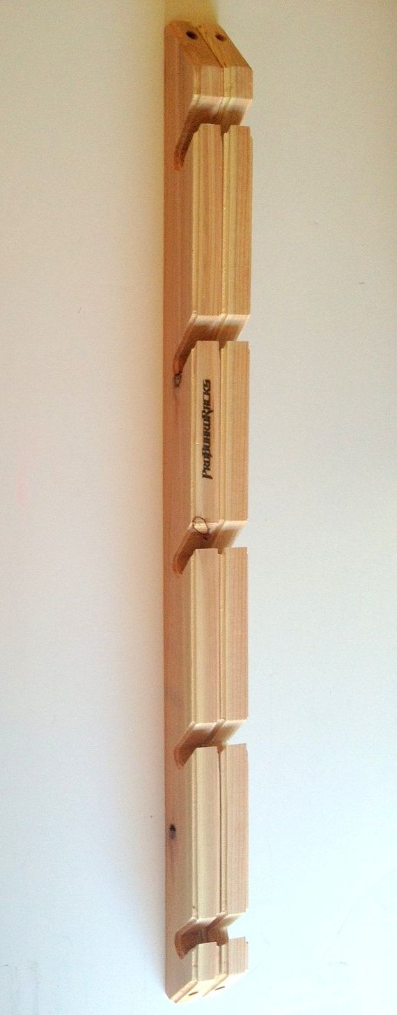 Skateboard Longboard Wall Rack Mount Holds 5 by ProBoardRacks - Must get for our house
