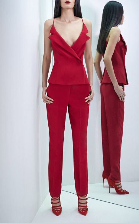 Stretch Cady Cami by Cushnie et Ochs for Preorder on Moda Operandi