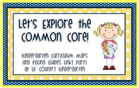 common core ideas: Pace Guide, Country Kindergarten, Cores Linky, Curriculum Maps, Lil Country, Kindergarten Curriculum, Linky Parties, Common Cores, Kindergarten Common Core